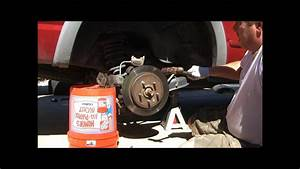 2002 Ford Explorer Replacing The Rear Brake Rotors And