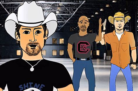Brad Paisley Draws Superhero Animation For Crushin It Vid