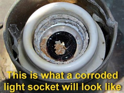 how to fix a corroded light bulb socket diy tips