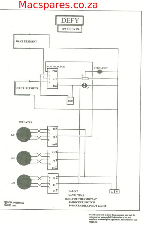 wiring diagrams stoves macspares wholesale spare parts supplying africa   commerce