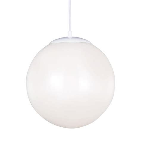 white globe pendant light sea gull lighting hanging globe 1 light white pendant