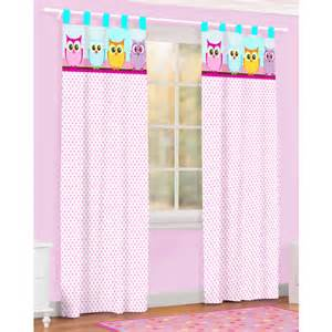 Walmart Curtains For Bedroom by Owl Microfiber Curtain Walmart Com