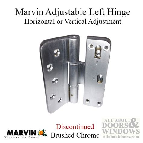 marvin adjustable door hinge