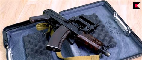 kgb operational briefcase aks    firearm blogthe firearm blog