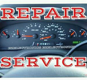 Ford E150 E250 E350 E450 Instrument Cluster Repair Service