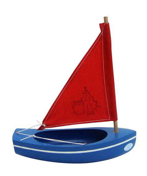 Sailing Boat Toy by Spirited Mama Wooden Toy Sailing Boat