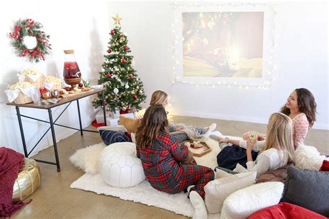 playing holiday sleepover  night party guide evite