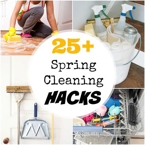 cleaning hacks 25 spring cleaning hacks for your home creative juice