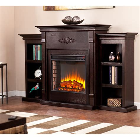 Infrared Fireplace Entertainment Center by Tall Electric Fireplace Bellacor