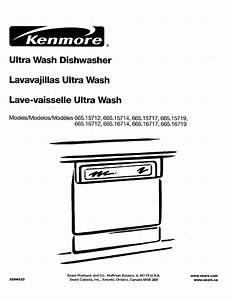 35 Kenmore Ultra Wash Dishwasher Parts Diagram