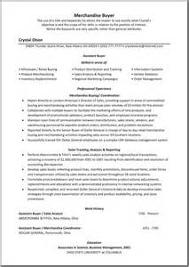 Assistant Buyer Resume Skills by Resume Fashion Sle