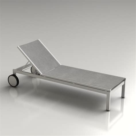 chaise ée 60 3d jupiter outdoor lounge high quality 3d models