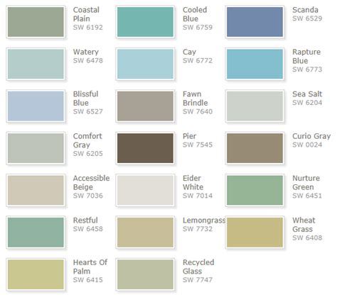 seaside paint colors you will love family room