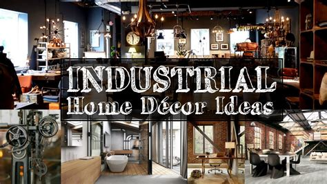 industrial home decor ideas youtube