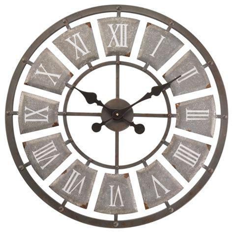 lincoln skeleton garden clock 62cm the garden factory