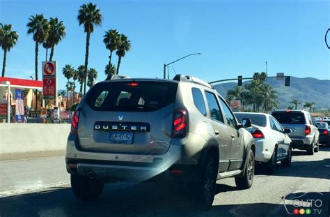 renault duster spotted  california streets industry