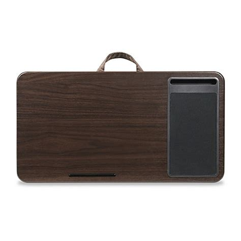 bed bath and beyond desk l buy deluxe laptop lap desk in espresso from bed bath beyond