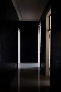 Dark hallway light rooms interior design