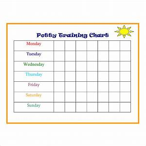 6 Best Images Of Potty Training Chart Templates Printable Potty