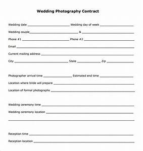 18 photography contract templates pdf doc free With free wedding photography contract template