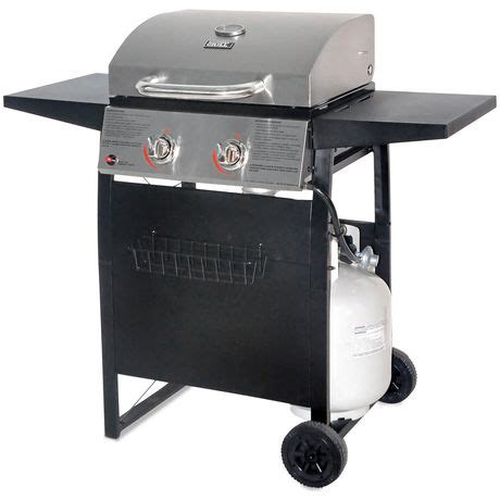 Backyard Grill 2 Burner Gas Grill by Backyard Grill Stainless Steel Lid 2 Burner Propane Gas
