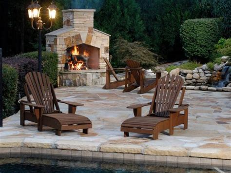 Outdoor Wood Burning Fireplace Hgtv