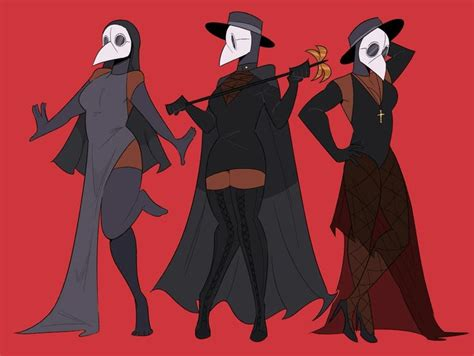 Pin by Icarus on night in the woods | Plague doctor ...