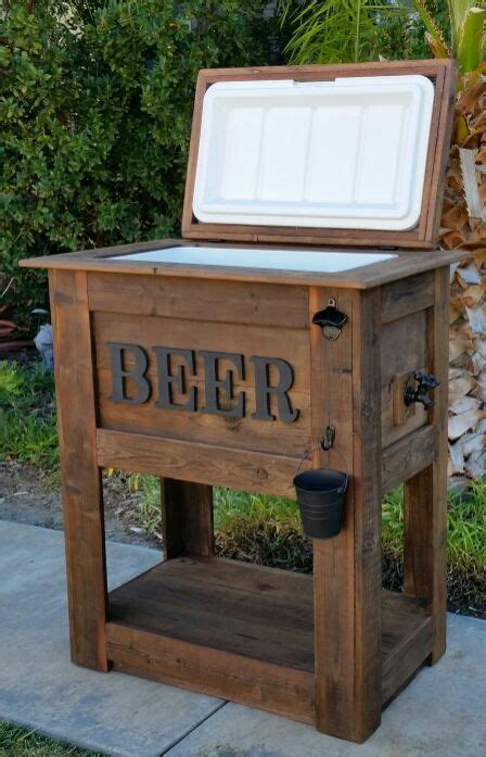 rustic beer cooler  sale  murrieta ca barn