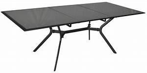 Table En Verre Rectangulaire : table rectangulaire malaga aluminium et verre ~ Teatrodelosmanantiales.com Idées de Décoration