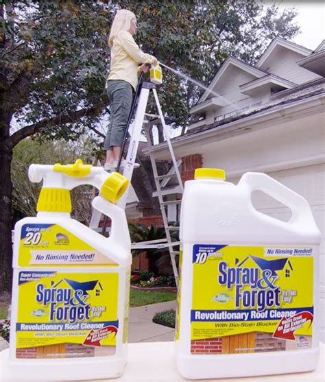 gal concentrated  rinse eco friendly roof