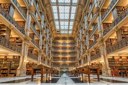 University Most Libraries Library Peabody Building Hopkins