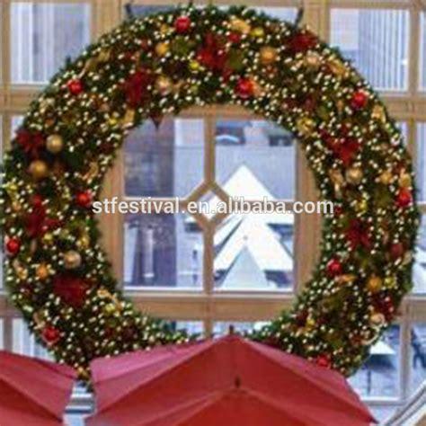 giant christmas wreath decorative supplies wholesale