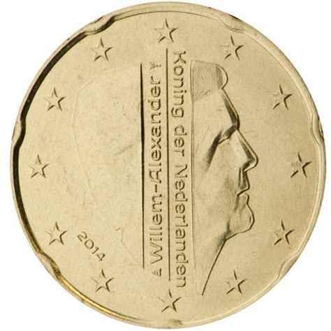 2 Euro - willem-Alexander (Investure of King Willem-Alexander