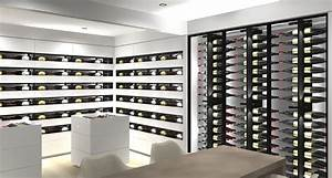 Cave À Vin Design : 3d project wine cellar corian iceberg ~ Voncanada.com Idées de Décoration