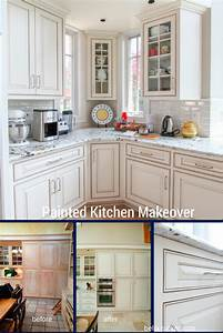 Painted Cabinets Nashville TN Before and After Photos