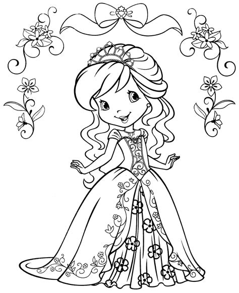 Strawberry Shortcake Coloring Pages 11030