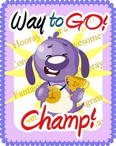 Way To Go Champ Greeting Stock Illustration  Illustration