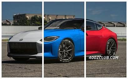 400z Colors Simulation Production Nissan Renderings