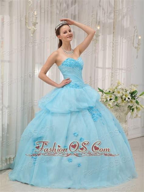 light blue 15 dresses inexpensive light blue sweet 16 dress sweetheart organza