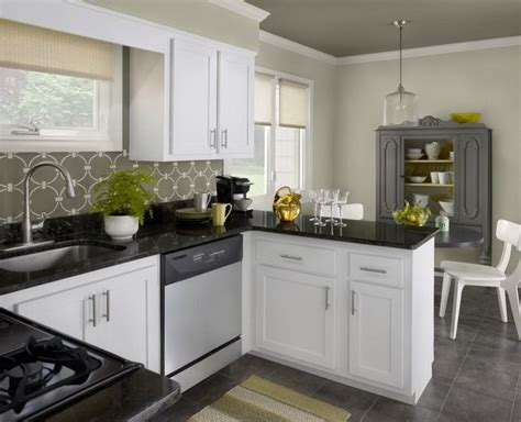 colour ideas for kitchen attractive kitchen color schemes with white cabinets