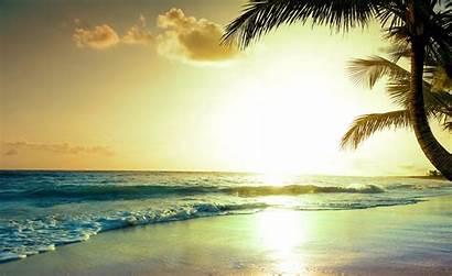 4k Sunset Tropical Beach Nature Wallpapers Paradise