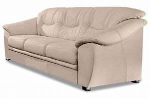 Couch Mit Federkern : 3er sofa savona creme mit federkern sofas zum halben preis ~ Michelbontemps.com Haus und Dekorationen