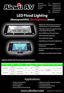 Led floods lights akwil ltd