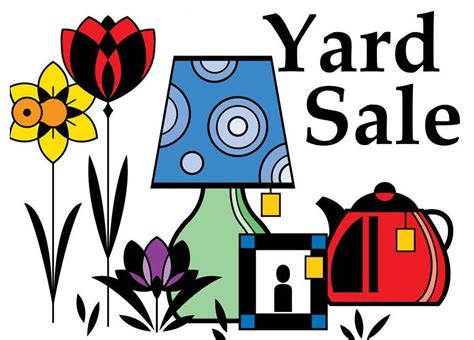 Yard Sale! 6/10 – 9am to 2pm