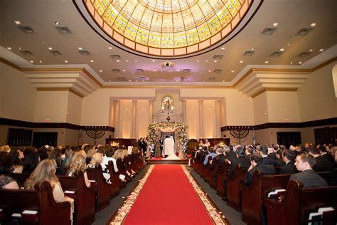 temple emanu el closter wedding  erica daniel