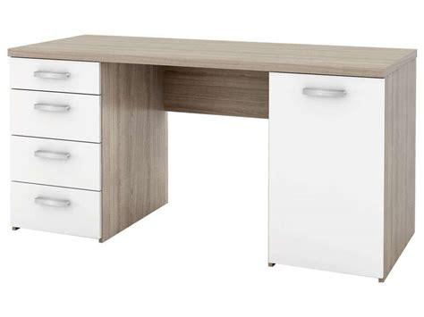 bureau meteor conforama bureau blanc bureau 120 cm lou coloris blanc