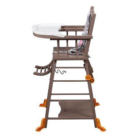 combelle chaise haute chaise haute transformable laqué taupe combelle design bébé