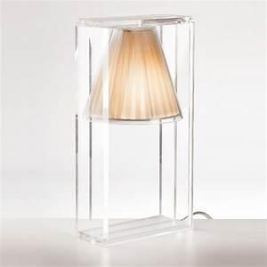 Abat Jour Tissu : light air lampe de table abat jour tissu kartell ~ Teatrodelosmanantiales.com Idées de Décoration