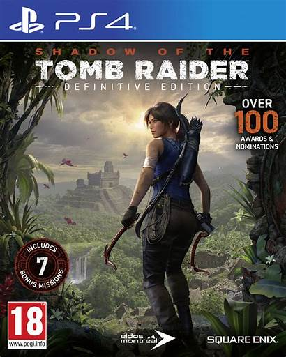 Tomb Raider Ps4 Shadow Definitive Edition Square