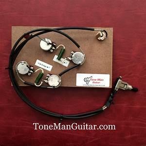 Gibson Epiphone Es175 Es295 Prebuilt Upgrade Wiring Kit  Pio Tone Caps For True Vintage Tone